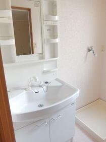カサデコスタ 201号室の洗面所