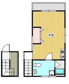 墨田5丁目アパート・201号室の間取り