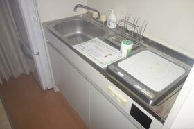 DRS第3ビル 801号室のキッチン