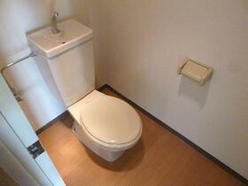DRS第3ビル 801号室のトイレ
