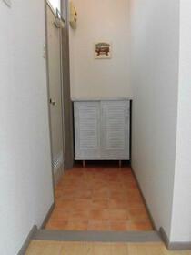 カーサフォレスト 203号室の玄関