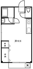 和光マンション・305号室の間取り