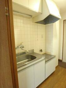 スプリングパーク 301号室のキッチン