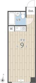 JK中野(旧エーエスホームズIII)・308号室の間取り