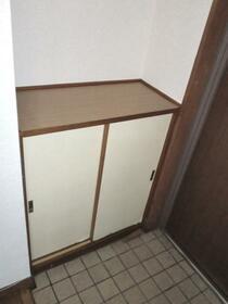 北新宿コーポ 101号室の玄関