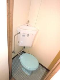 北新宿コーポ 101号室のトイレ