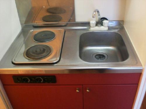 レオパレスサンフローラ 107号室のキッチン
