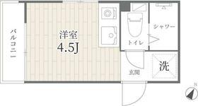 PROTO渋谷神泉I・103号室の間取り