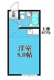 アスティー二俣川・202号室の間取り