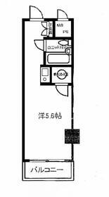 日興パレス横浜・309号室の間取り