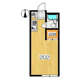 アーバンハウス生田1号館・202号室の間取り