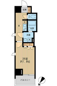 日本橋ファーストレジデンス・0209号室の間取り