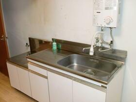 丸勝マンション 401号室のキッチン