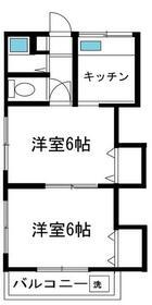 西六郷三井ハウス・102号室の間取り
