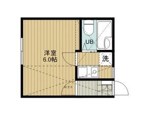 ジュネパレス松戸第58・202号室の間取り