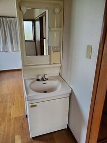 大網白里市南横川アパート 201号室の洗面所