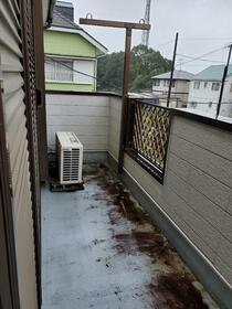大網白里市南横川アパート 201号室のバルコニー