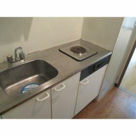 ジュネス藤森 2A号室のキッチン