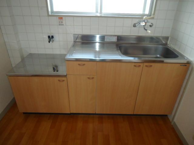 リバティはなみずきA・B 10102号室のキッチン