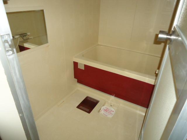 リバティはなみずきA・B 10102号室の風呂