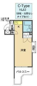 メゾン・ド・スクワール・0407号室の間取り