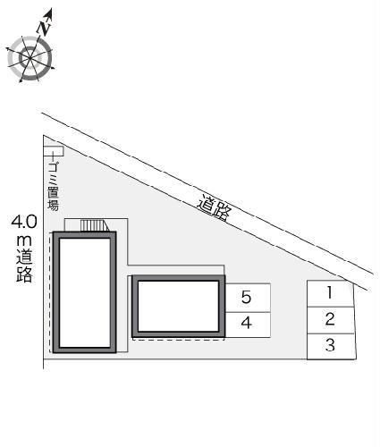 レオパレスナチュラルサン 103号室のその他共有