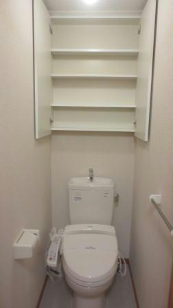 レオパレスエスポアールⅡ 107号室のトイレ