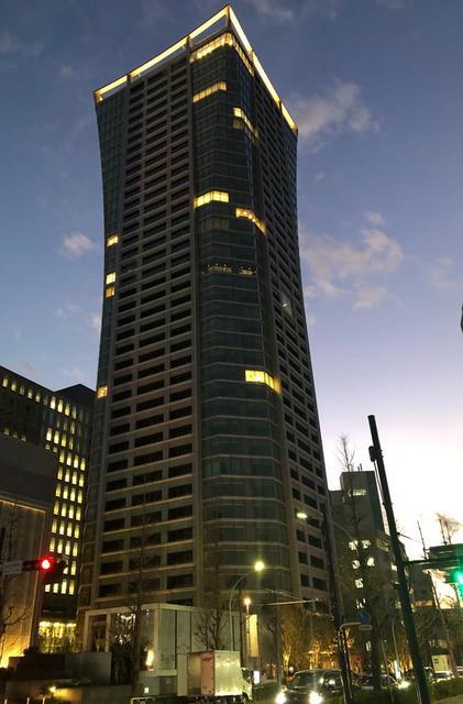 パークコート渋谷ザタワーの外観