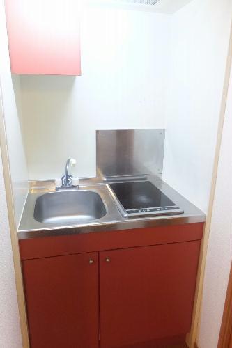 レオパレスエバ36A 202号室のキッチン