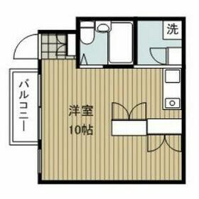 アトリウム前田・306号室の間取り