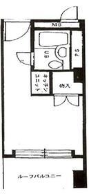ライオンズマンション歌舞伎町・608号室の間取り