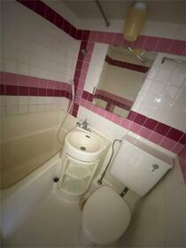 ハイシティ南青山 414号室の風呂