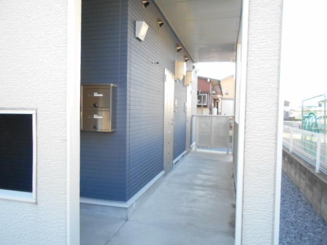 レジデンス桜 01020号室のバルコニー