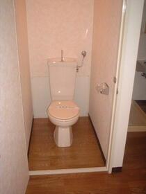 コーポラス東光 705号室のトイレ