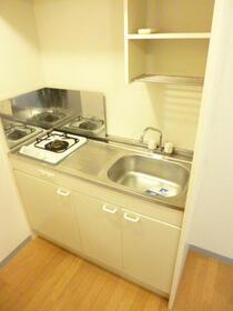 スカイコートヴァンテアン早稲田 405号室のキッチン