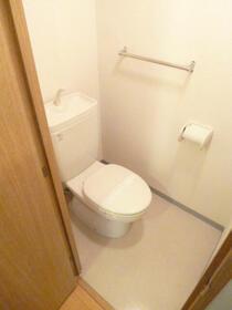スカイコートヴァンテアン早稲田 405号室のトイレ