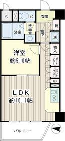 コゥジーコート寺山・00304号室の間取り