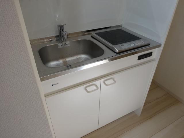 north crest 102号室のキッチン