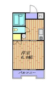 メゾンプチパレ 206号室・206号室の間取り