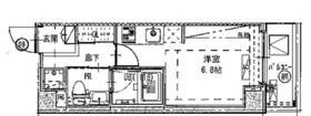 B CITY APARTMENT SHINAGAWA WEST・101号室の間取り