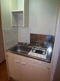 エクセリア五反田 304号室のキッチン