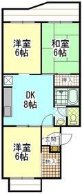 センチュリーハイツ町田17号棟・303号室の間取り