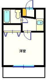 サンプラザ港南中央ⅡA棟 203号室の間取り