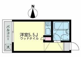 ニューエクセレントハウス妙蓮寺A棟 101号室の間取り