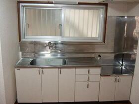 オアシスナイン 202号室のキッチン