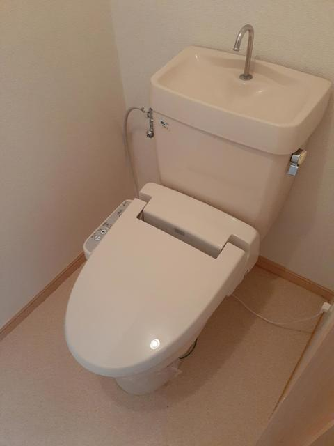シティハイツ渡辺 02030号室のトイレ