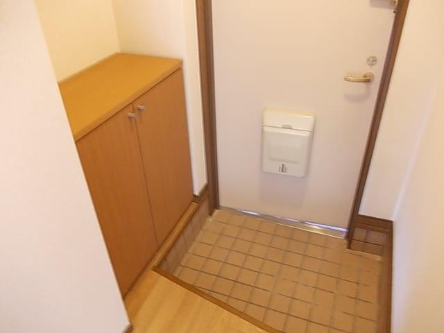 インテックスⅢ番館 02030号室の玄関