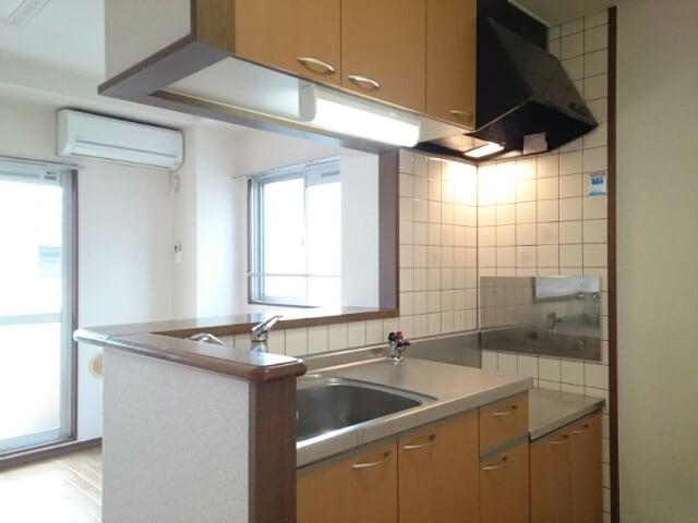 インテックスⅢ番館 02030号室のキッチン