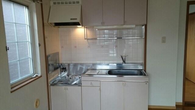 アンフィニ・アムールB 02010号室のキッチン