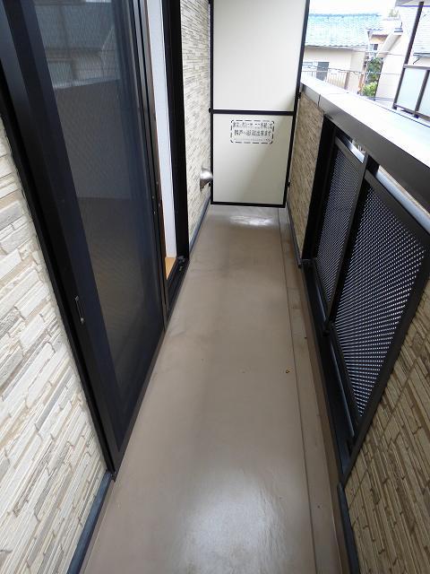 folding villa 02050号室のバルコニー